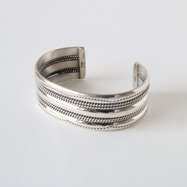 STERLING SILVER BANGLE WIDE SBW14