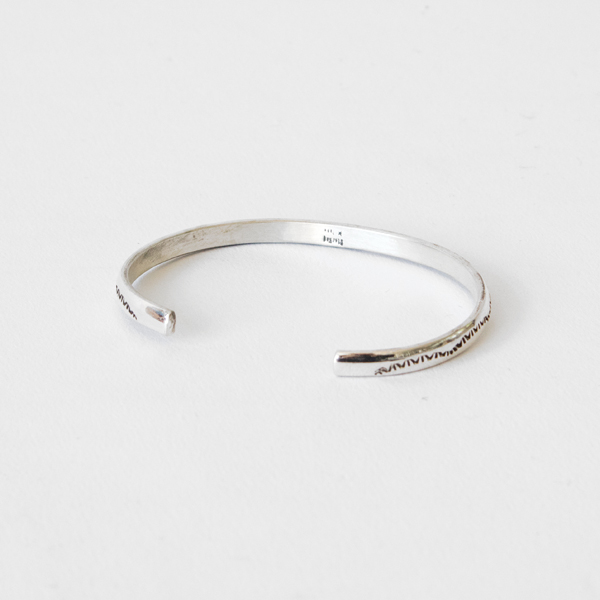 STERLING SILVER BANGLE SLIM SB9