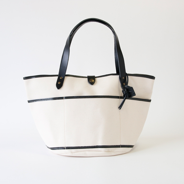 GARDEN BAG ROND WHITE