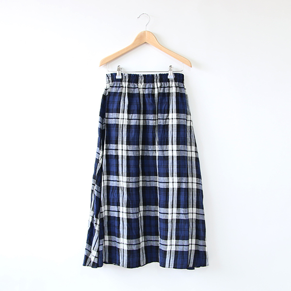 LINEN SWING SKIRT LECKAVREA