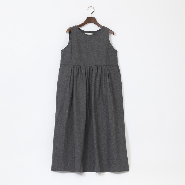 DRESS PINAFORE LONG