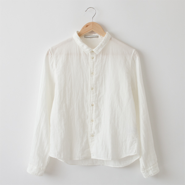 SUPIMA COTTON DOUBLE GAUZE SHIRT