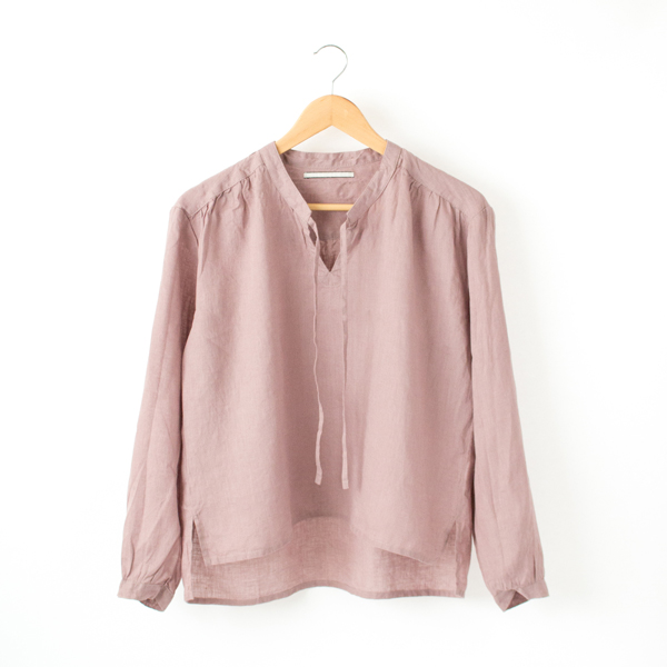 LINEN LONG SLEEVED BLOUSE