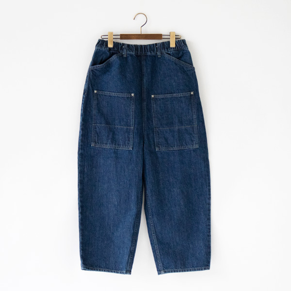 FRONT POCKET DENIM PANTS by tumugu