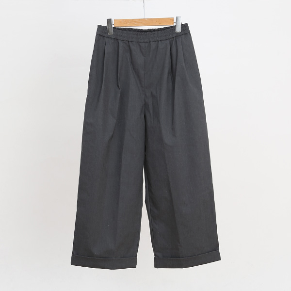 DOUBLE HEM WIDE PANTS