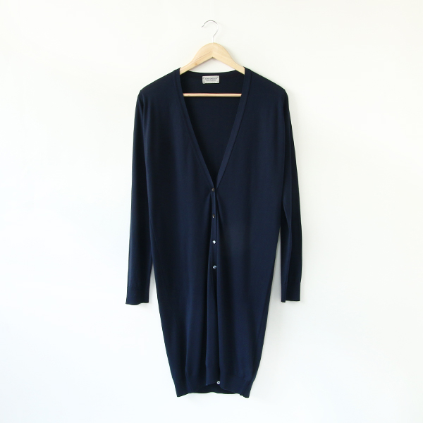 30G COTTON LONG CARDIGAN