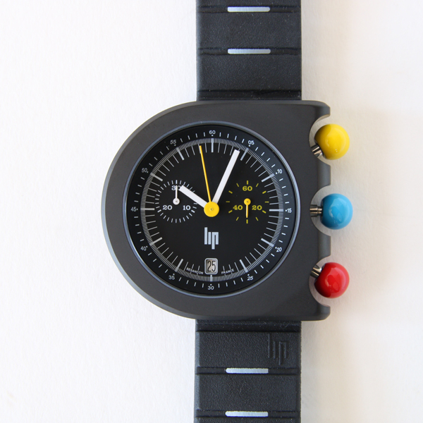 Mach 2000 Design Watch Chronograph Black