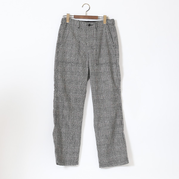 GLEN CHECK BAKER PANTS