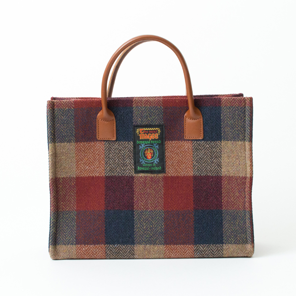 MAGEE MED TOTE トートバッグ(WINE)