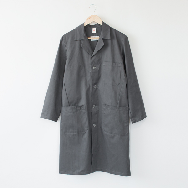 GARAGE COAT  DARK GREY