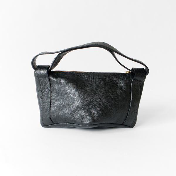 LEATHER MNI BAG COOKIE