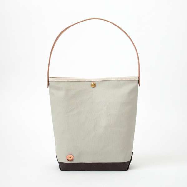 CANVAS ONE HANDLE BAG-S NT.NIMBUS.CHOCO