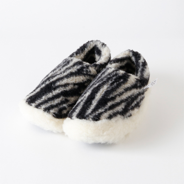 Room Shoes SIBERIAN zebra