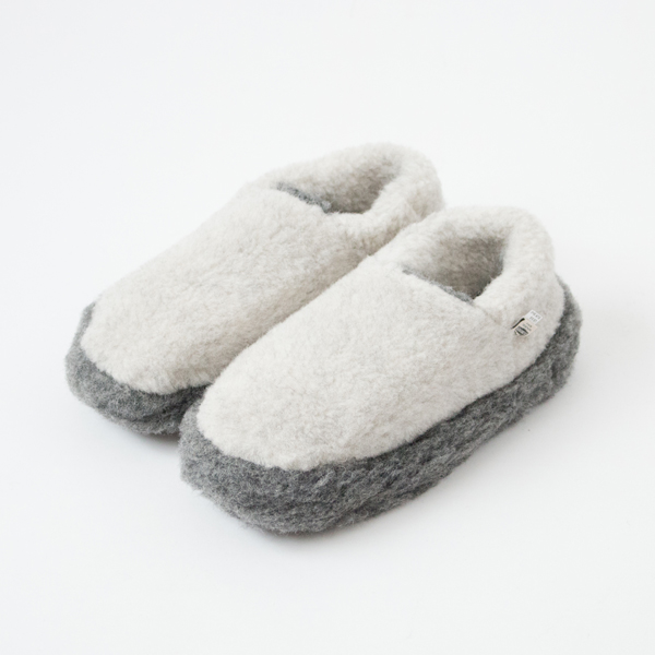 ROOM SHOES SIBERIAN LIGHT GREY