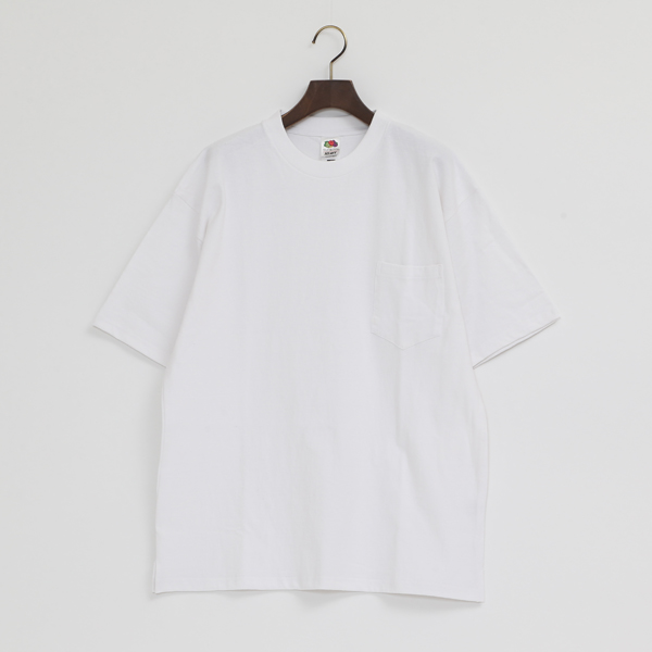 FRUIT HEAVY WEIGHT POCKET TEE
