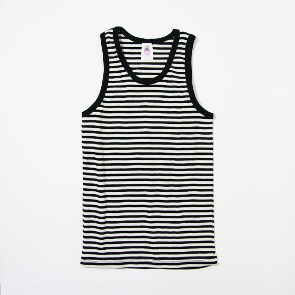 Men Tank top natural-black
