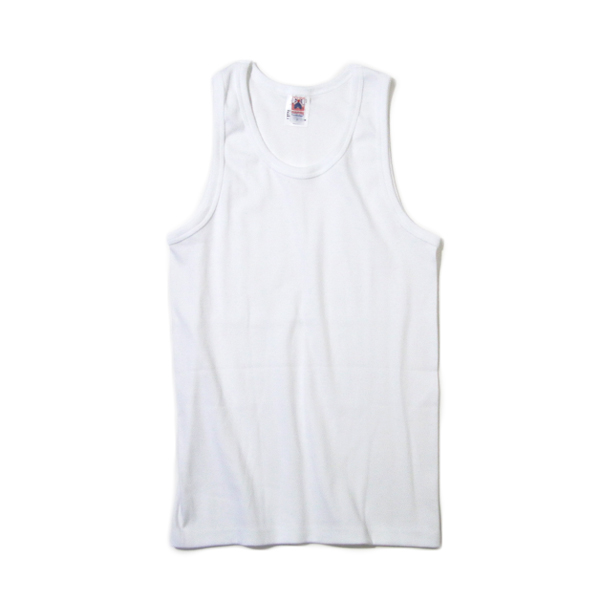 Men Tank top white