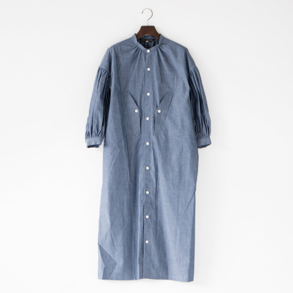 5OZ CHAMBRAY DRESS