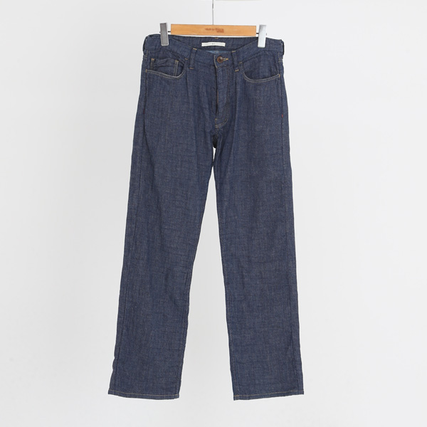 GAUZE DENIM TROUSERS