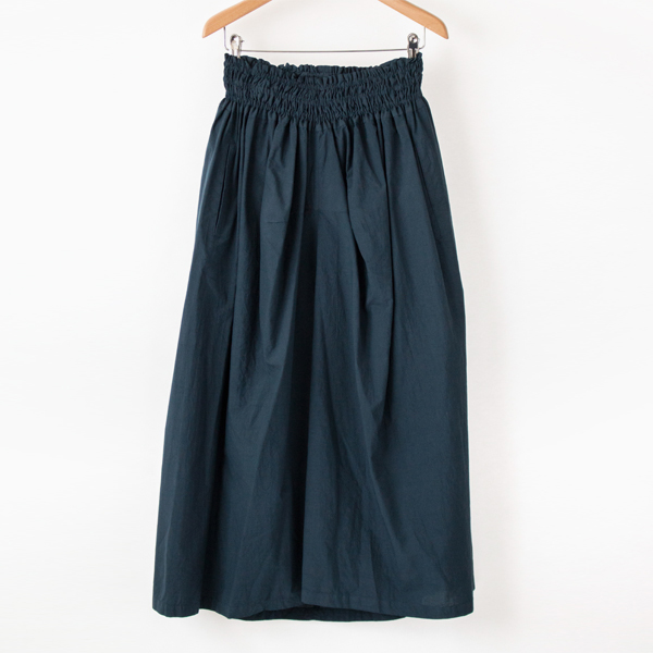 PERU COTTON GATHER SKIRT