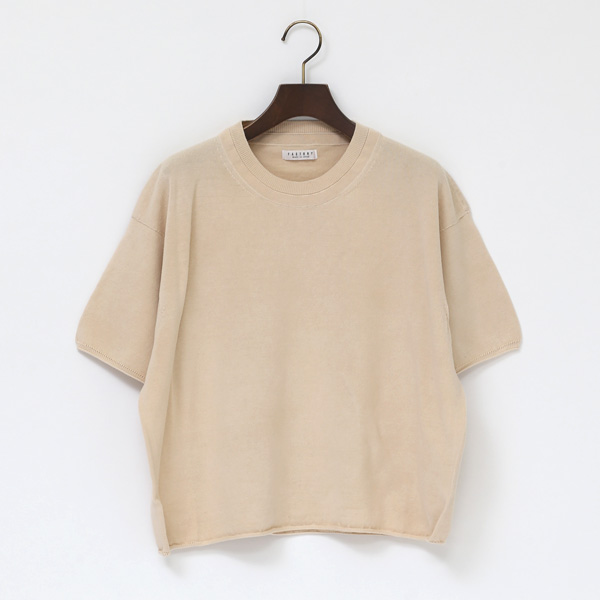 PERU COTTON  SHORT SLEEVE SWEATER