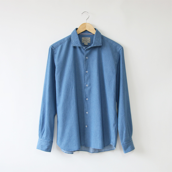 MEN MICRO JACQUARD SHIRT