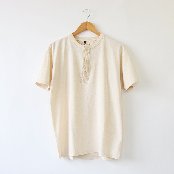 MEN VINTAGE HENLEY T-SHIRT
