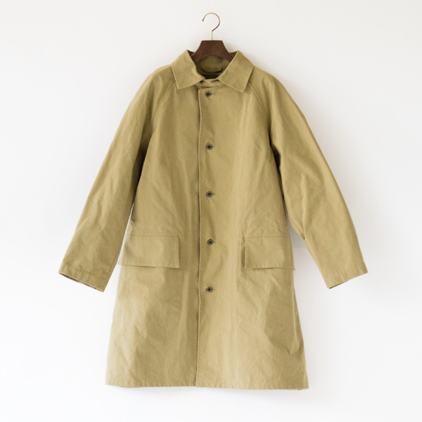 PACKABLE COAT HALFTEX(KHAKI)