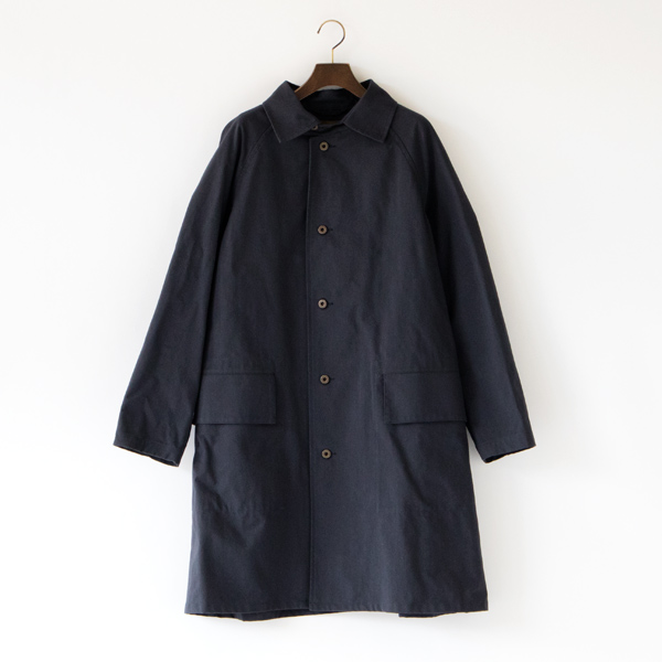 PACKABLE COAT HALFTEX(BLACK)
