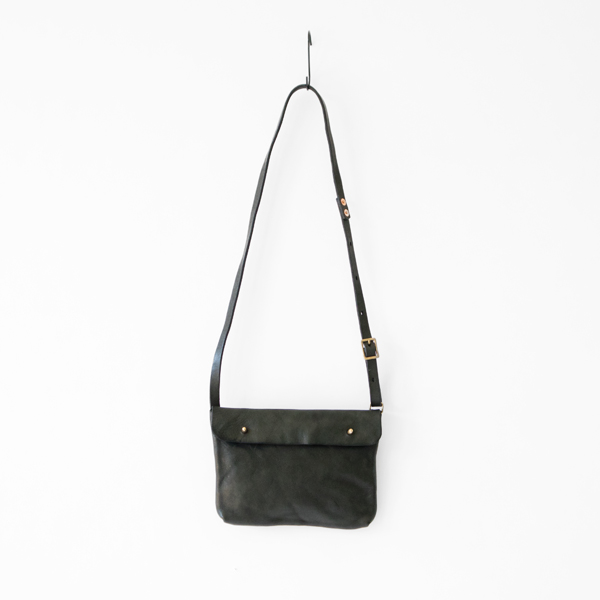LEATHER SHOULDER BAG LUUKU