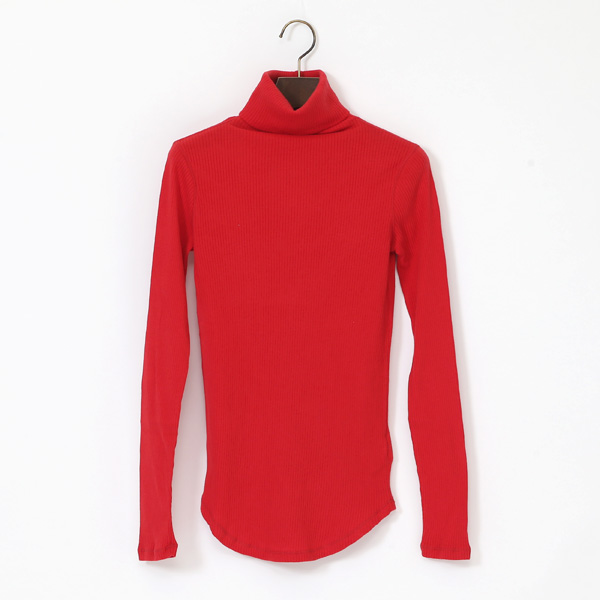COTTON CASHMERE LIB TURTLENECK