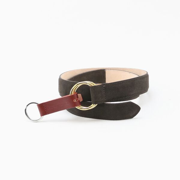 30mm SUEDE O RING BELT