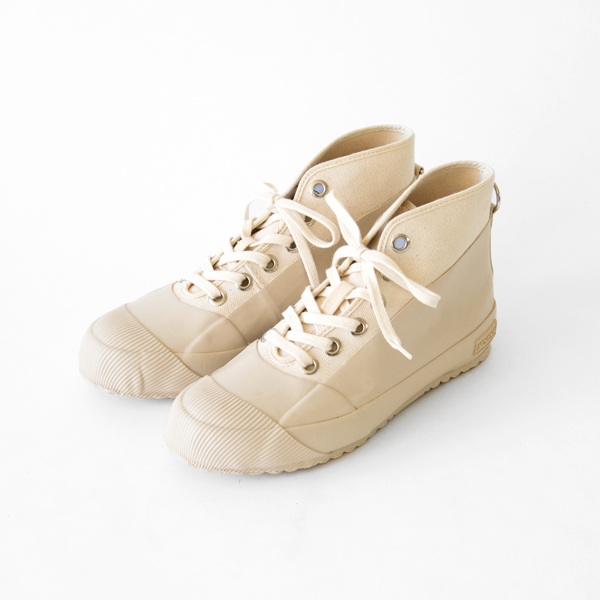 WEATHER PROOF HIGH CUT SHOES BEIGE