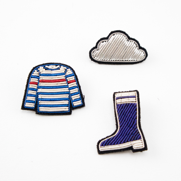 rubber boot stripe shirts cloud