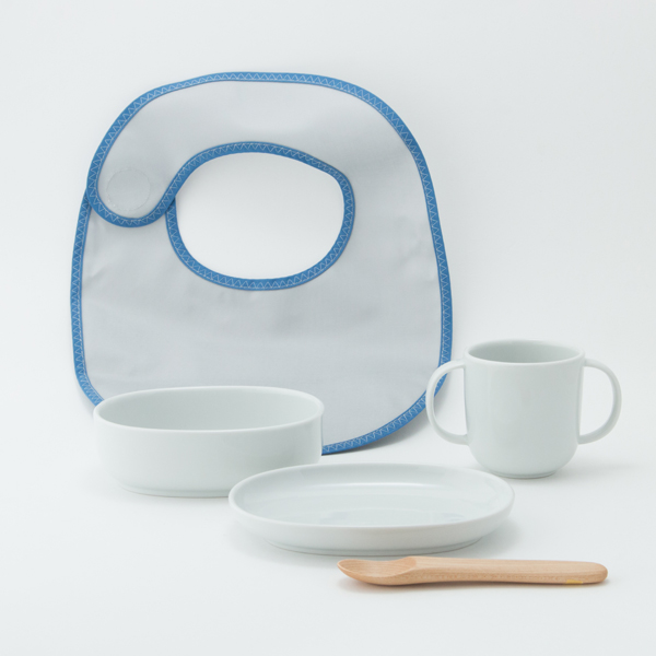 BABY TABLEWARE SET WIND FLOWER