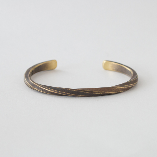 UNISEX BANGLE STUDEBAKER CUFF WORK PATINA