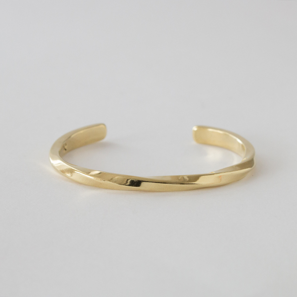 バングル STUDEBAKER CUFF POLISHED(BRASS-S)