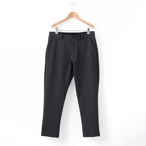 MEN JERSEY TROUSERS JET CHARCOAL