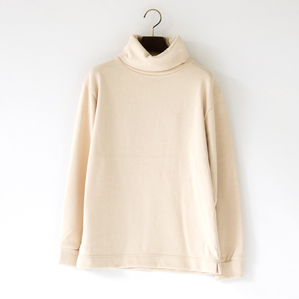 UNISEX SWEAT HIGHNECK IVORY