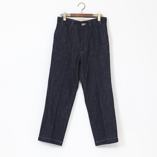 TROUSERS02 C  INDIGO×OFF