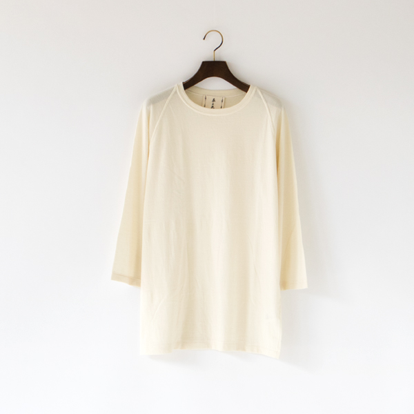 WOOL RAGLAN LONG SLEEVE