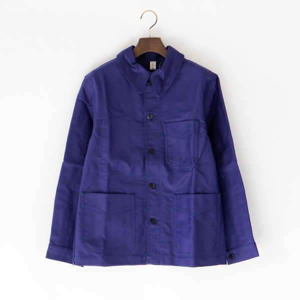 UNISEX TRADITIONAL WORKER JACKET  BLEU DE TRAVAIL