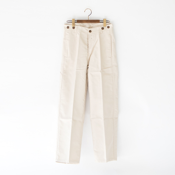UNISEX TRADITIONAL WORKER TROUSERS  BEIGE