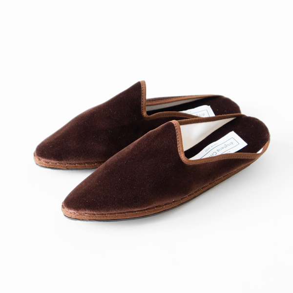 Papusse Mules 020 BROWN