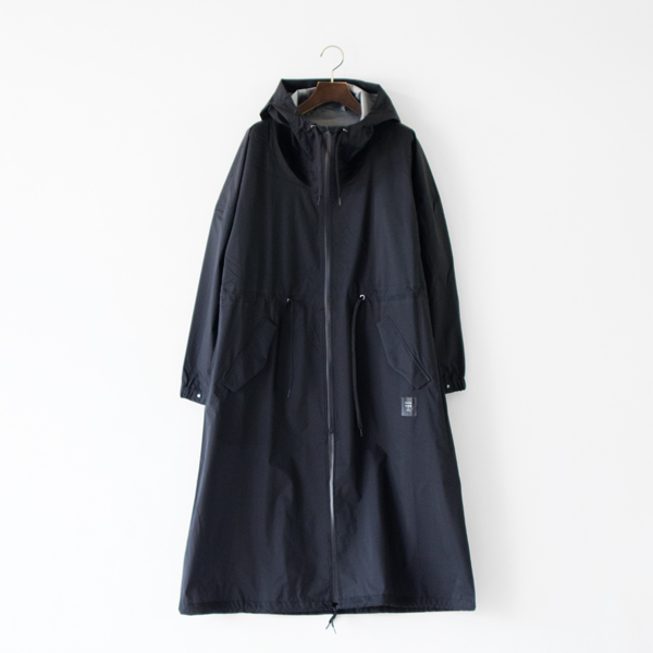 ALL WEATHER UNISEX COAT BLACK