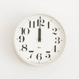 Riki steel clock with numbers