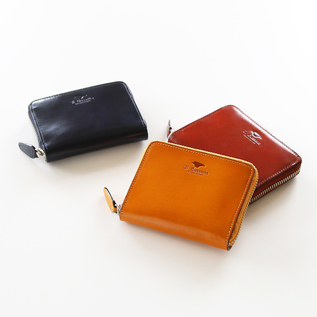 ROUND ZIP MINI WALLET