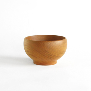 Wooden bowl zelkova