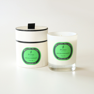 Aromatherapy candles green tea