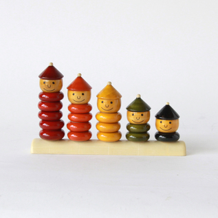 Wooden Toy PEPPY FIVE